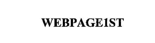 WEBPAGE1ST
