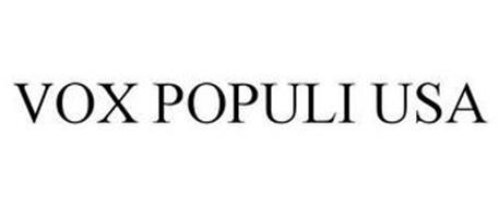 VOX POPULI USA