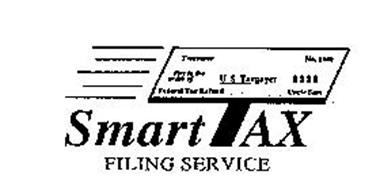 SMARTTAX FILING SERVICE FEDERAL TAX REFUND UNCLE SAM PAY TO THE ORDER OF U S TAXPAYER $$$$ NO. 1040 TREASURER