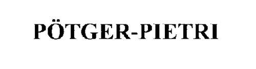POTGER-PIETRI