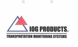 IOG PRODUCTS TRANSPORTATION MONITORING SYSTEMS