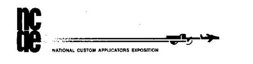 NCAE NATIONAL CUSTOM APPLICATORS EXPOSITION
