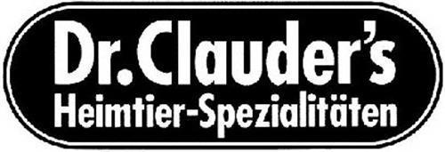 DR. CLAUDER'S HEIMTIER-SPEZIALITÄTEN
