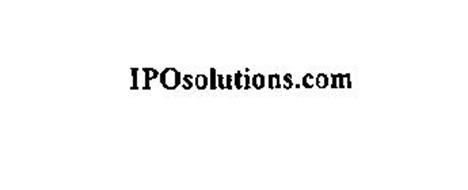 IPOSOLUTIONS.COM