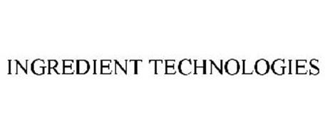 INGREDIENT TECHNOLOGIES