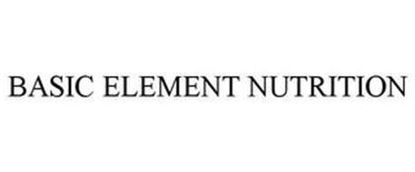 BASIC ELEMENTS NUTRITION