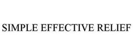 SIMPLE EFFECTIVE RELIEF