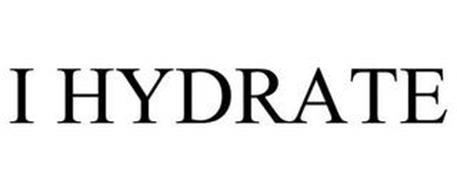 I HYDRATE