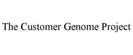 THE CUSTOMER GENOME PROJECT
