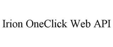 IRION ONECLICK WEB API