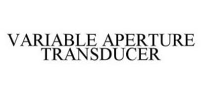 VARIABLE APERTURE TRANSDUCER