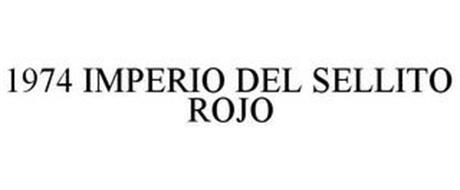 1974 IMPERIO DEL SELLITO ROJO