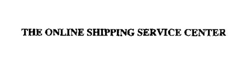 THE ONLINE SHIPPING SERVICE CENTER