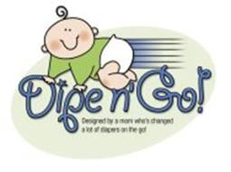 DIPE N' GO! DESIGNED BY A MOM WHO'S CHANGED A LOT OF DIAPERS ON THE GO!