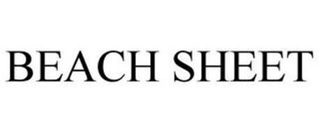 BEACH SHEET