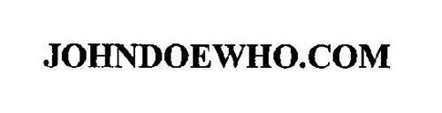 JOHNDOEWHO.COM