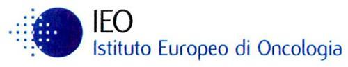 IEO ISTITUTO EUROPEO DI ONCOLOGIA
