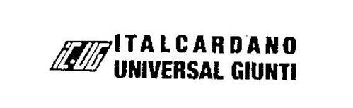 IC-UG ITALCARDANO UNIVERSAL GIUNTI