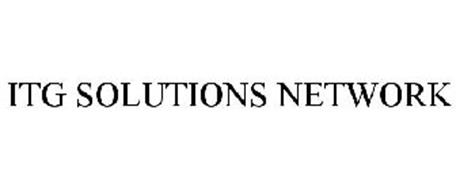 ITG SOLUTIONS NETWORK
