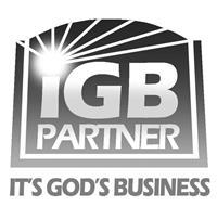 IGB PARTNER IT'S GOD'S BUSINESS