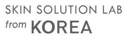 SKIN SOLUTION LAB FROM KOREA