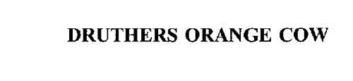 DRUTHERS ORANGE COW