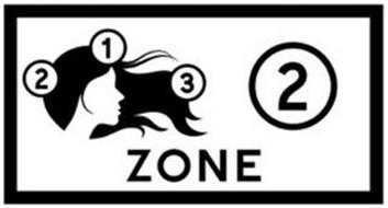 ZONE 2 1 2 3