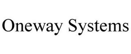 ONEWAY SYSTEMS