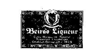 BEIRAO LIQUEUR GOLD MEDAL ON BEIRAS REGIONAL EXHIBITION CASTELO BRANCO/ 1929