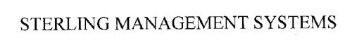 STERLING MANAGEMENT SYSTEMS
