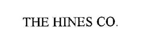 THE HINES CO.