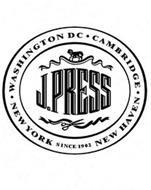 J. PRESS NEW YORK · WASHINGTON DC · CAMBRIDGE · NEW HAVEN SINCE 1902