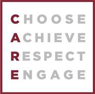 CHOOSE ACHIEVE RESPECT ENGAGE