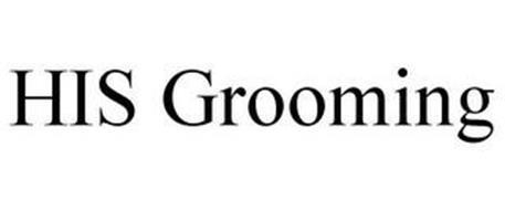 HIS GROOMING