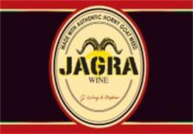 JAGRA WINE MADE WITH AUTHENTIC HORNY GOAT WEED J. WRAY & NEPHEW