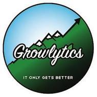 GROWLYTICS IT ONLY GETS BETTER