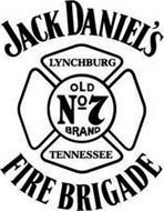 JACK DANIEL'S LYNCHBURG OLD NO 7 BRAND TENNESSEE FIRE BRIGADE