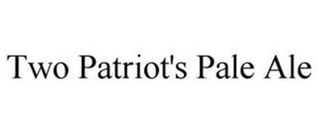 TWO PATRIOT'S PALE ALE
