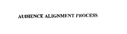 AUDIENCE ALIGNMENT PROCESS