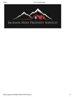 JACKSON HOLE PROPERTY SERVICES