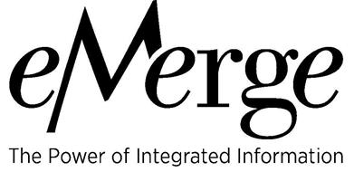 EMERGE THE POWER OF INTEGRATED INFORMATION