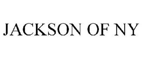 JACKSON OF NY Trademark of Jackson National Life Insurance Company Serial Number: 77732798 ...