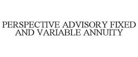 PERSPECTIVE ADVISORY FIXED AND VARIABLE ANNUITY