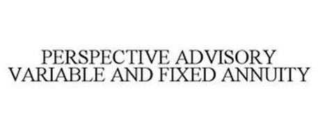 PERSPECTIVE ADVISORY VARIABLE AND FIXED ANNUITY