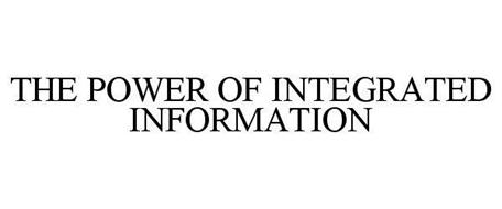 THE POWER OF INTEGRATED INFORMATION
