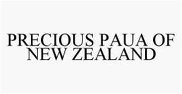 PRECIOUS PAUA OF NEW ZEALAND