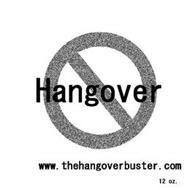 HANGOVER WWW.THEHANGOVERBUSTER.COM 12 OZ.