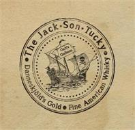 · THE JACK·SON·TUCKY DANNESKJÖLD'S GOLD · FINE AMERICAN WHISKY GALT'S GALLEON