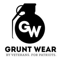 GW GRUNT WEAR BY VETERANS. FOR PATRIOTS.