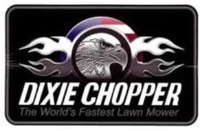 Dixie Chopper The World S Fastest Lawn Mower Trademark Of